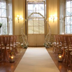 Aisle Runner Leading To Your Wedding Arch : One of the most memorable moments of your wedding day is walking down the aisle and w