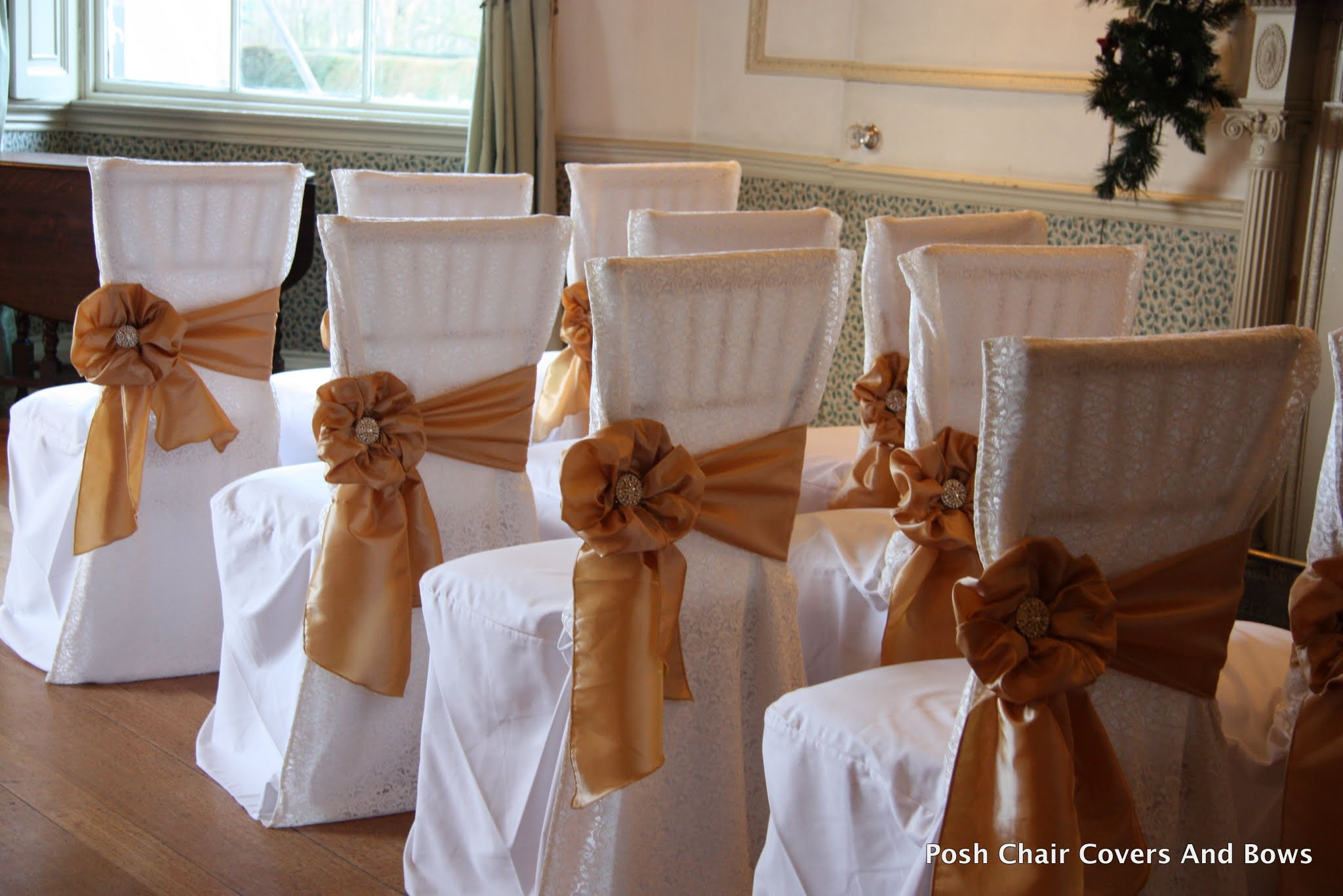 Chair Cover Bows posh chair covers & bows | chiavari chairs |flower wall|hire