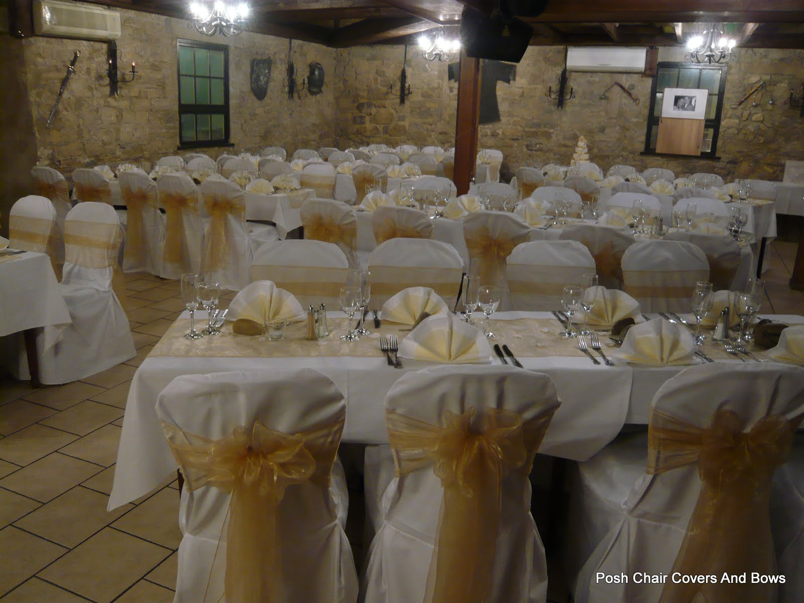 Posh chair covers bows chiavari chairs flower wallhire walworth castle darlington junglespirit Image collections